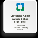 Lander Recognized as a Cleveland Clinic Banner School!!