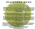 Mayfield Girls Tennis Hosting a Scavenger Hunt Fundraiser