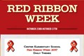 Oct. 23 - Oct. 27 is Red Ribbon Week