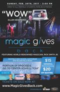 Magic Gives Back - Magician Rick Smith Jr. to perform at MHS Feb. 26th