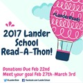 The 2nd Annual Lander Reads - Read-A-Thon