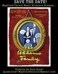 SPRING MUSICAL:  The Addams Family - April 7-9 - Tickets on Sale Now