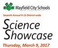SCIENCE SHOWCASE 2017: Innovate. Educate. Succeed.