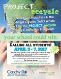 Student Council Project: Recycle, Goodwill Clothing Collection