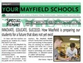 "YOUR MAYFIELD SCHOOLS - Spring 2017 - Special Report ""Contract with the Community"""