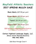 Annual Athletic Boosters Mulch Sale