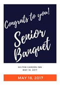 Join us for Senior Banquet!
