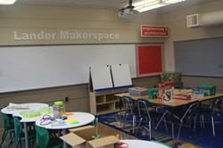 "Principal Navigator magazine publishes Lander Elementary Principal Evans' research on ""The Case for MakerSpace."""
