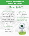 Alumni Hockey Golf Outing, August 5th