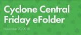 Cyclone Central Newsletter for 11-30-2018