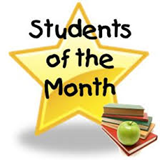 MMS April 2018 Students of the Month