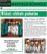 YOUR MAYFIELD SHOOLS - Summer newsletter