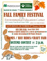 FALL FAMILY FESTIVAL: Oct 6th