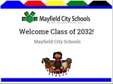 Welcome Class of 2032!