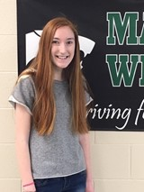 Pizza Roma is the Proud Sponsor of MHS Wildcat Student of the Month!