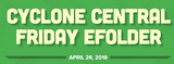 Cyclone Central Newsletter - April 26, 2019