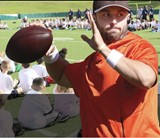 Baker Mayfield Youth Football Camp comes to Mayfield High School