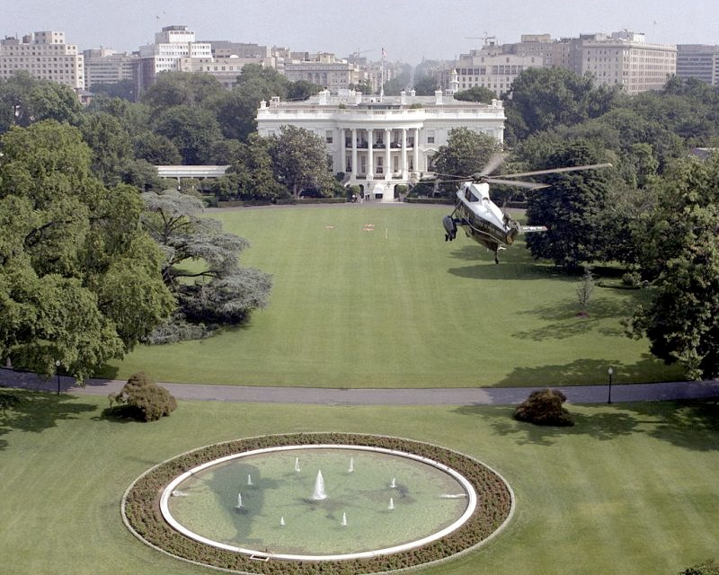 White House Aerial View