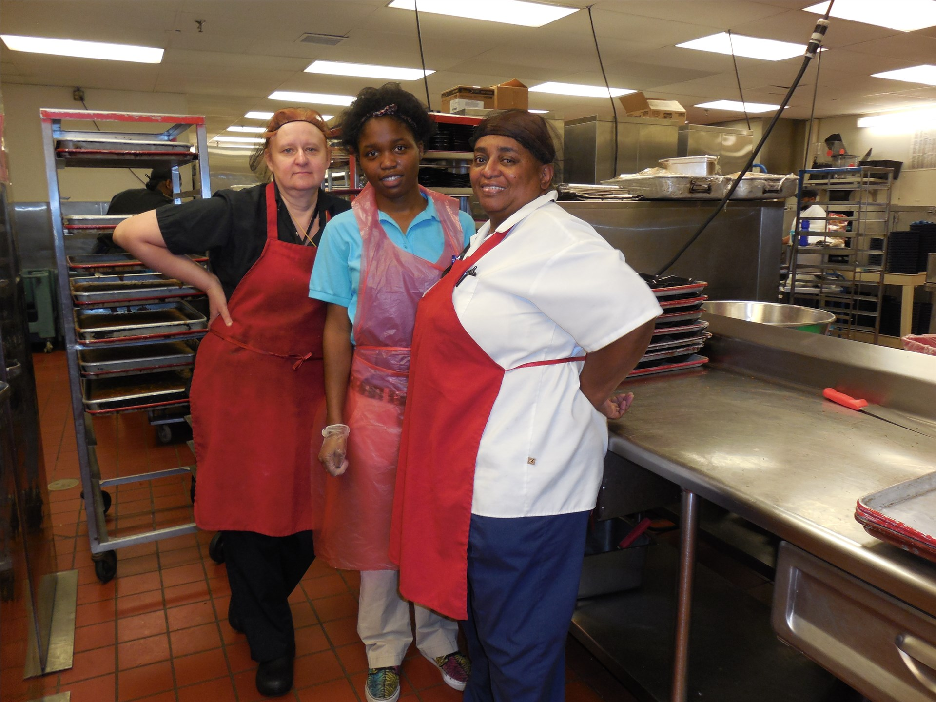 Working with Mentors in the Menorah Park Kitchen
