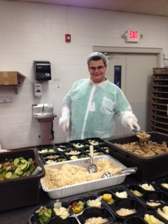 Portioning meals for seniors