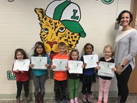 AVIS Winners Kindergarten & First Grades