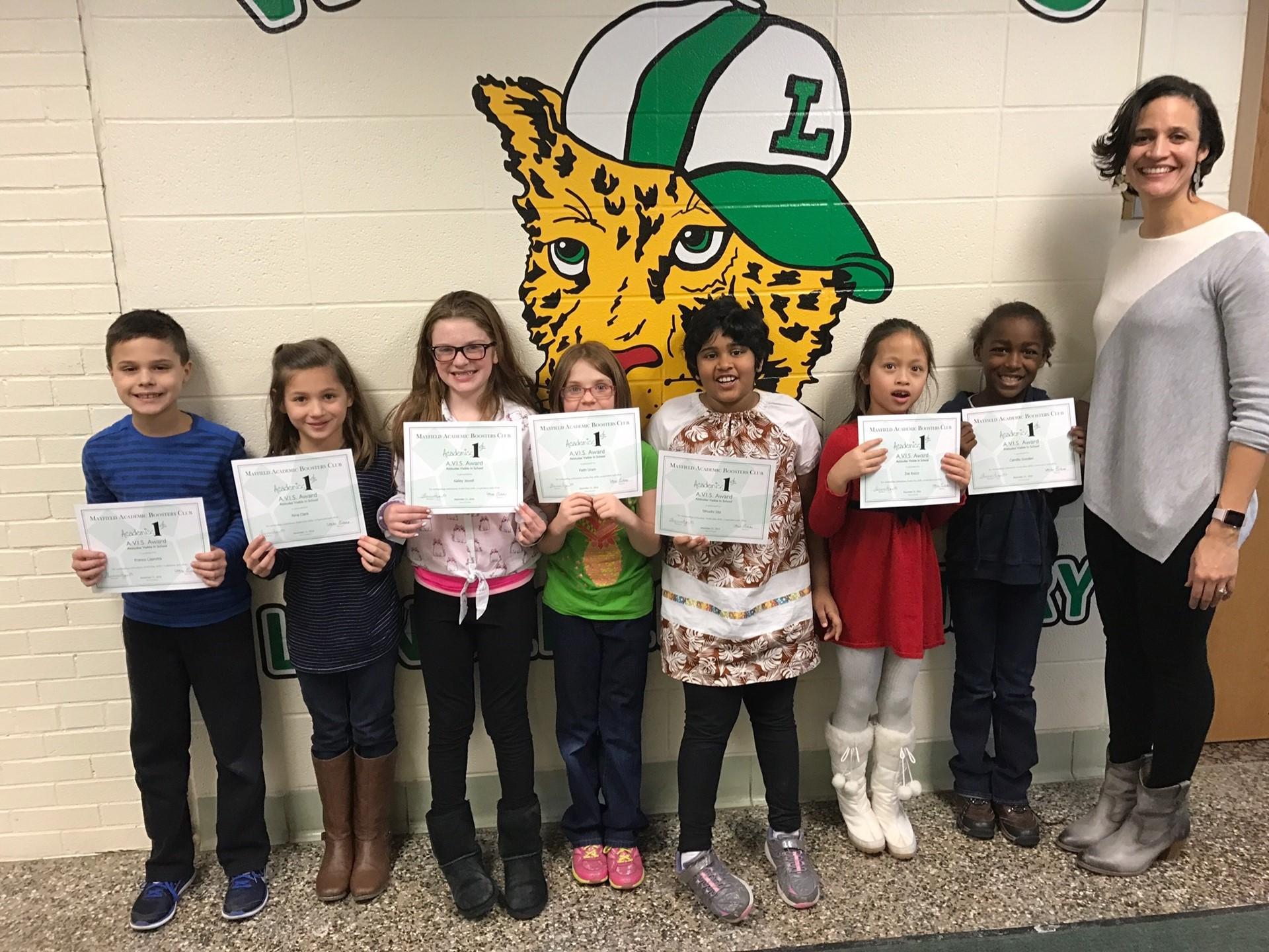 AVIS Winners - Grades 2 & 3