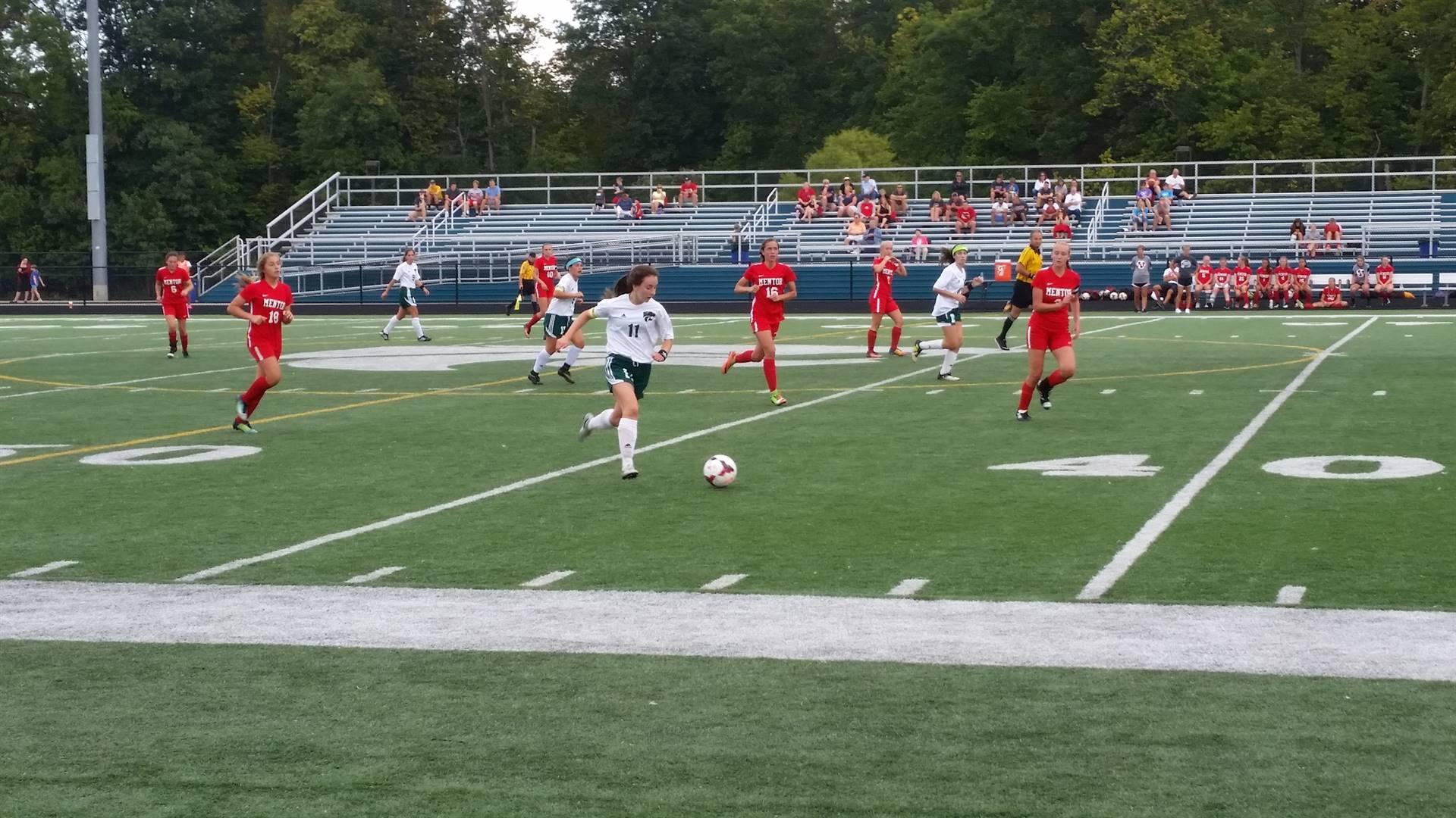 Women's Soccer vs. Mentor  9/16/2017