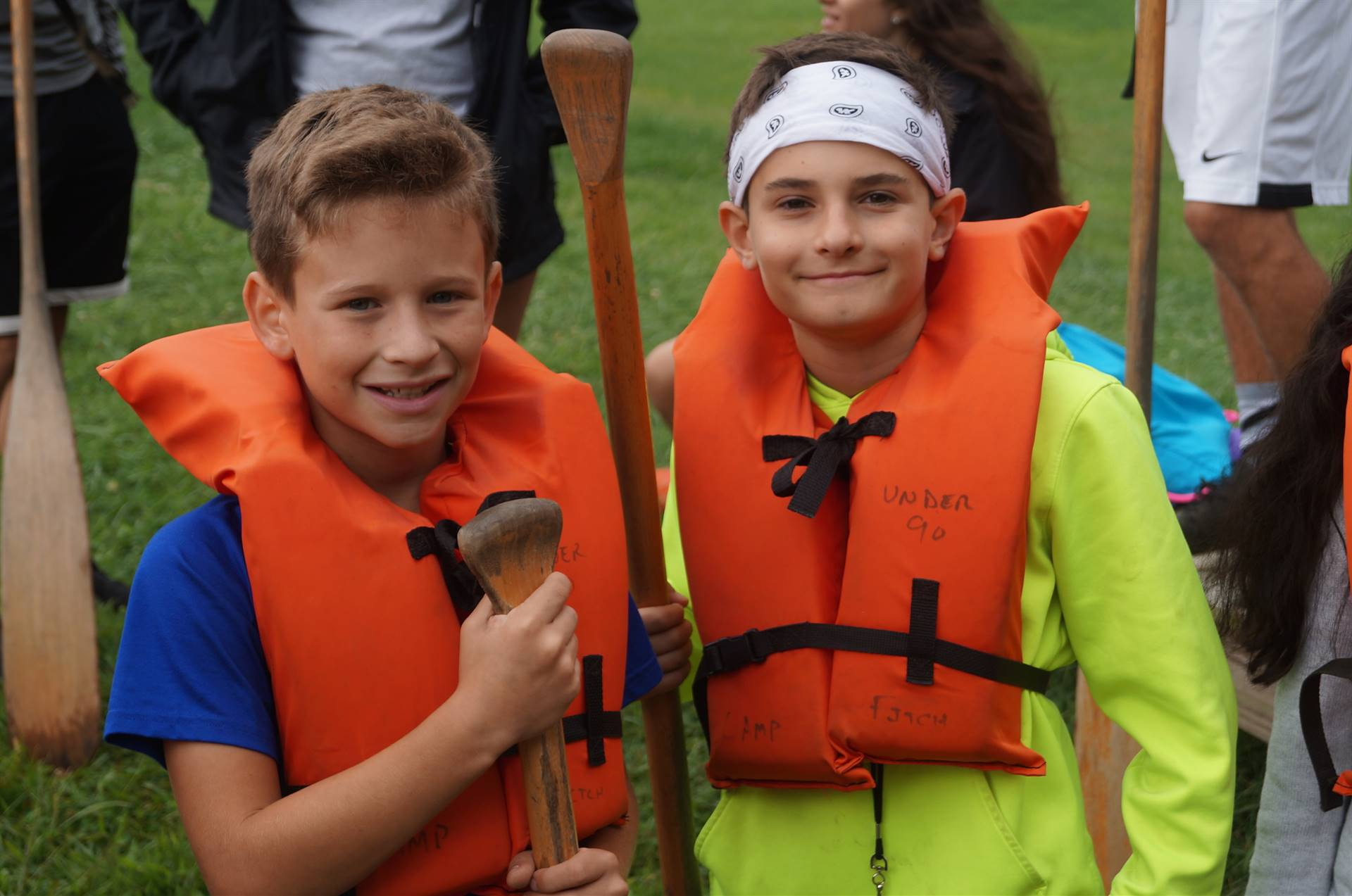 Canoeing at Camp Fitch