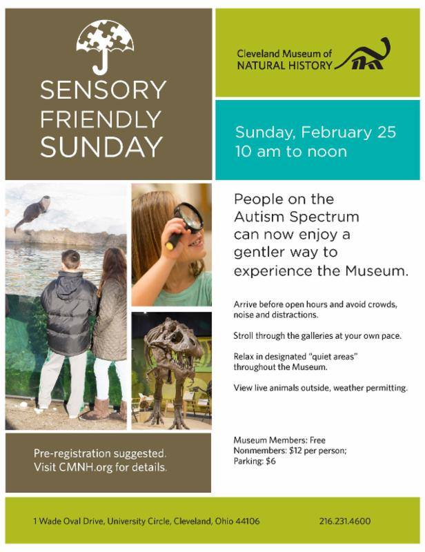 Nat History Museum Sensory Friendly Fridays