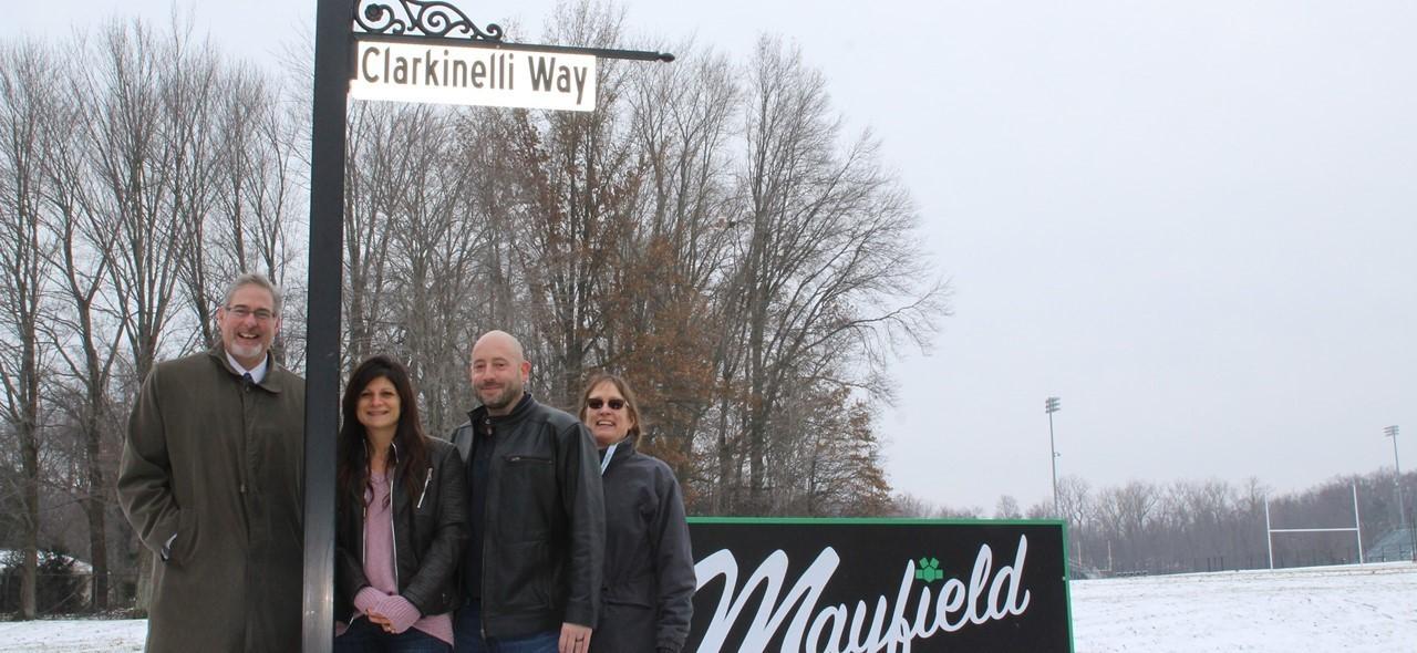 Clarkinelli street dedication