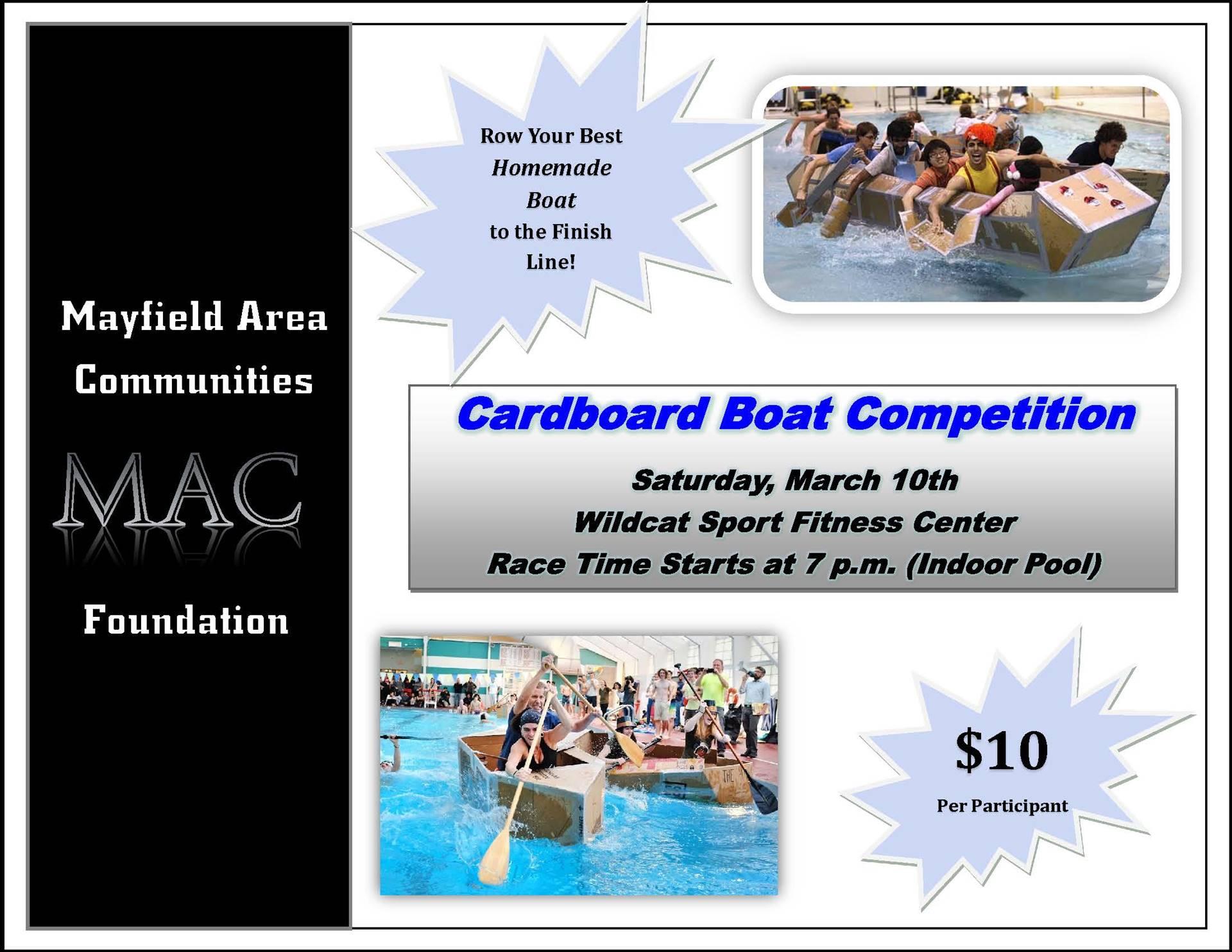 MAC Foundation Cardboard Boat Contest