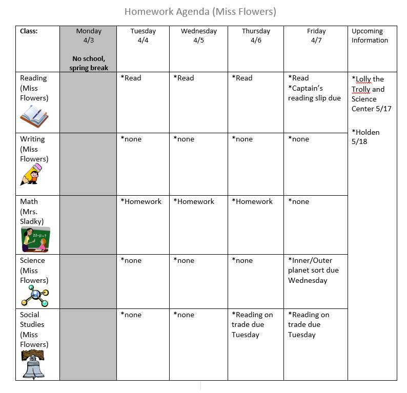 Agenda log