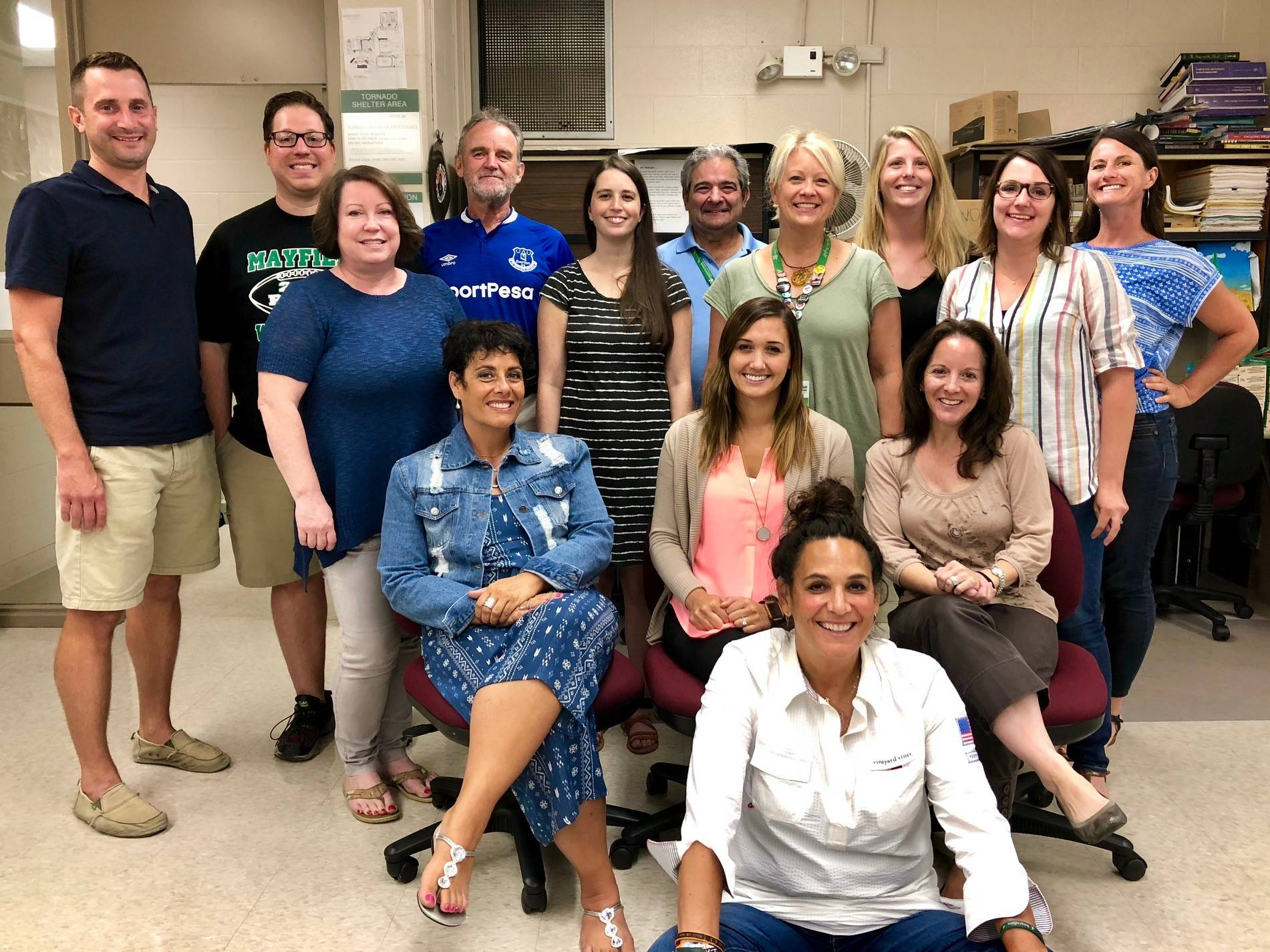 2018-2019 English Department