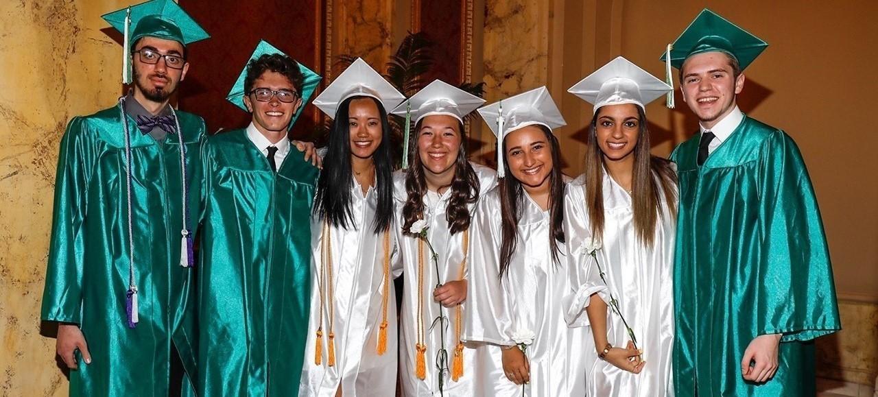 Mayfield High School graduates