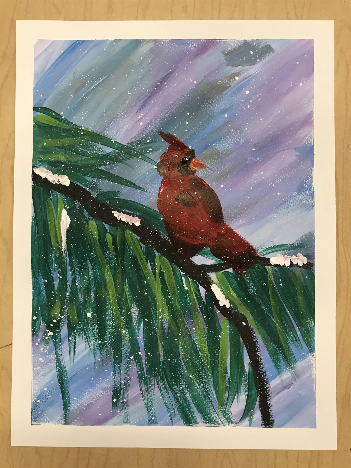 Winter Painting 3