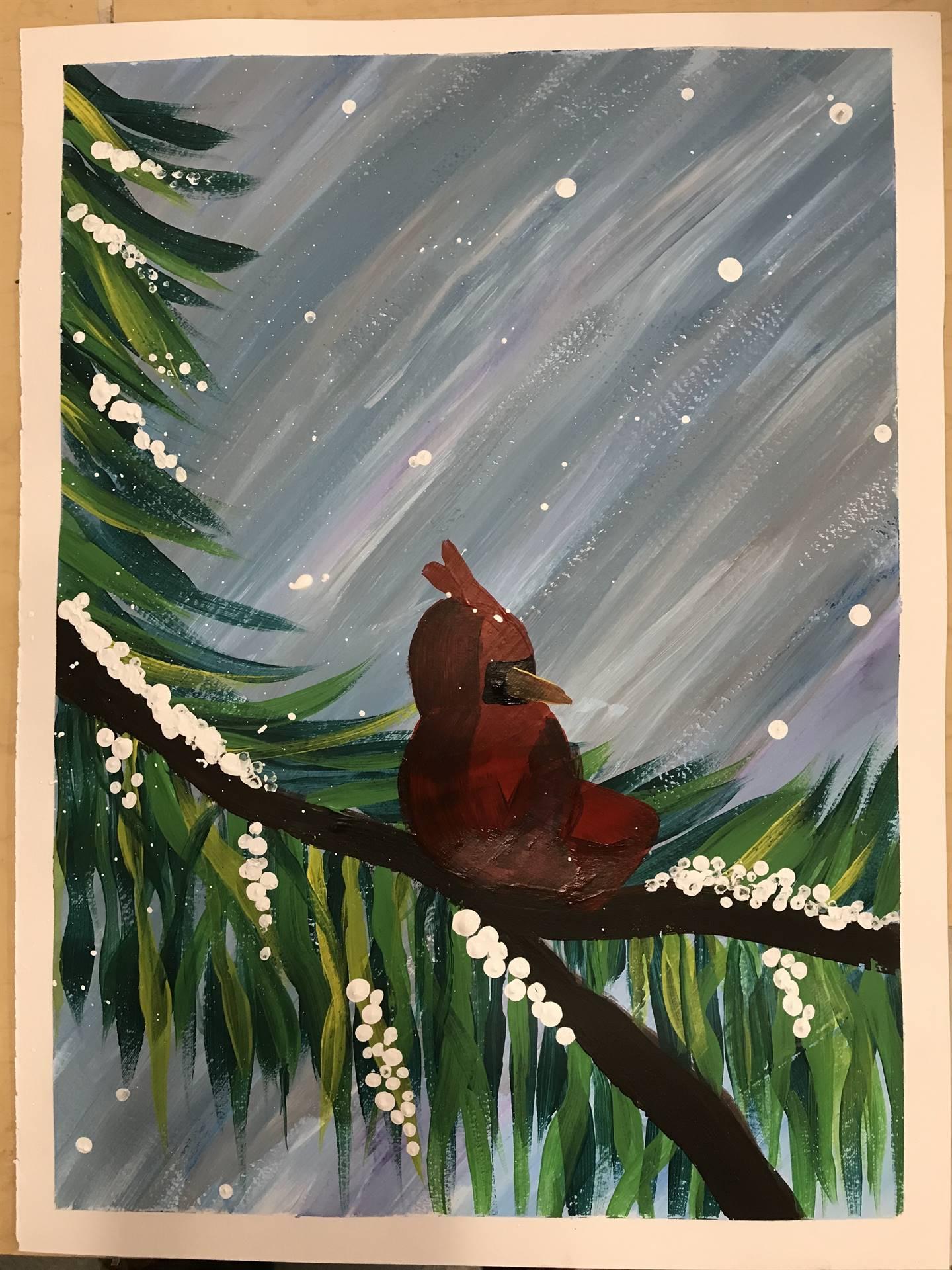 Winter Painting 5