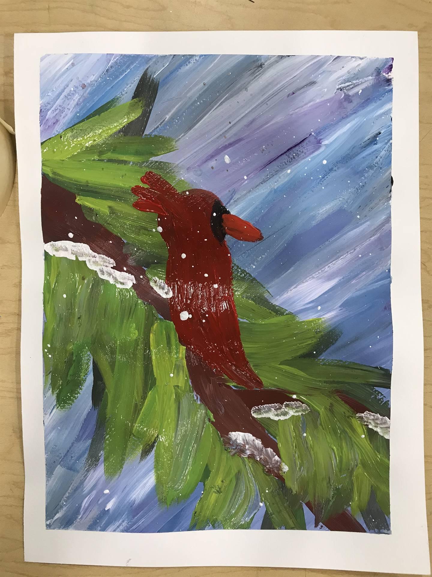 Winter Painting 7